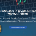 How I Made $200,000 in Cryptocurrency in 1 Week Without Trading Download